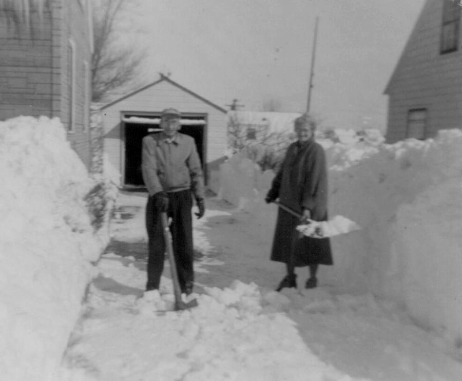 snow-shoveler